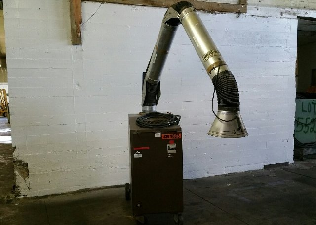 UNITED AIR SPECIALISTS FHP2-3 SMOG-HOG DUST COLLECTOR