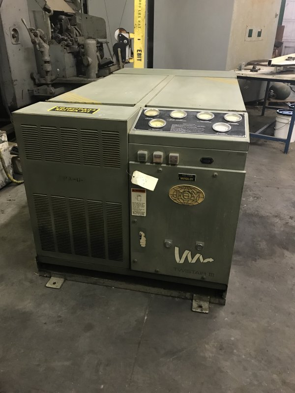 60HP JOY TWISTAR III SCREW AIR COMPRESSOR