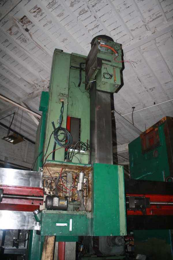 72 , GIDDINGS & LEWIS CNC CONTROL W/MILLING SPINDLE IN RAM
